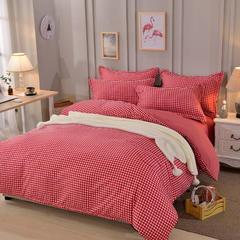 2018新款加厚针织棉四件套 1.5m(5英尺)床 品味人生