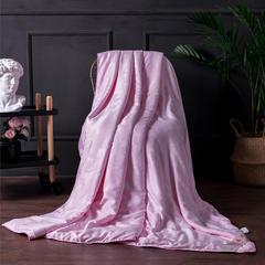 2019新款天丝莫代尔蚕丝被 150x200cm 粉色