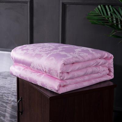 2019新款天丝莫代尔手工蚕丝被 普通款 150x200cm 粉色