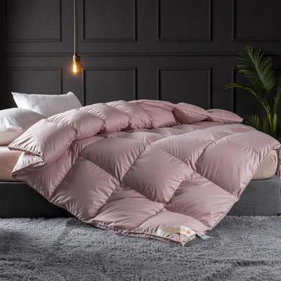 2019新款立体平网加厚羽绒被子被芯 150x200cm  6斤 粉色