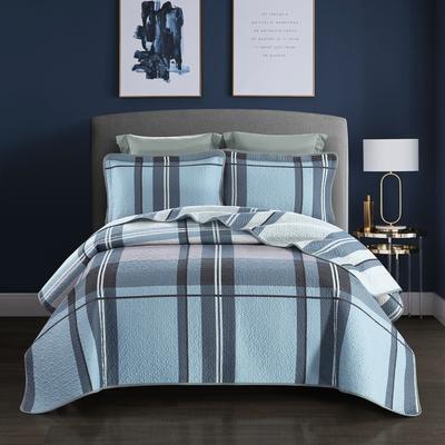 2019新款-双面全棉床盖三件套 230cmx250cm 格调生活