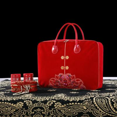 2019全棉刺绣婚庆四件套、多件套 标准床单四件套(1.5m-1.8m床) 包装