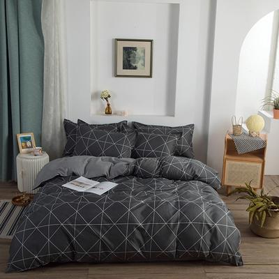 2021新款植物羊绒四件套 1.5m床单款四件套 梦想十分