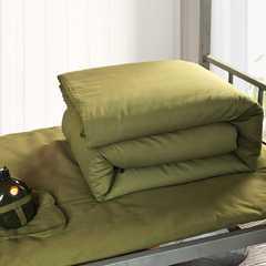 2018军绿色棉花被 120x200cm  4斤 军绿色