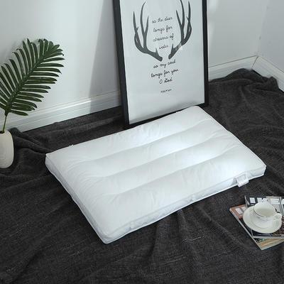 2018新款-枕芯 PE软管子母枕(48*74) 白色