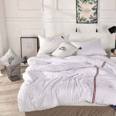 2018去年产品水洗棉冬被(法式浪漫)流苏款 150x200cm(4斤) 增白