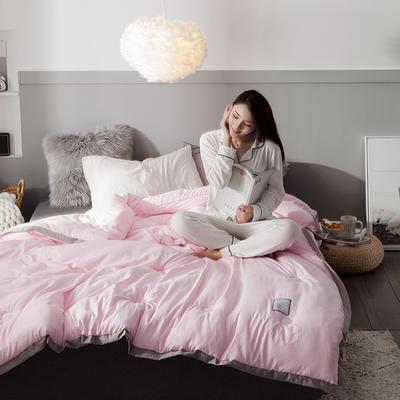 2018去年产品水洗棉冬被维纳丝花边款 150x200cm5斤 维纳丝抒情粉