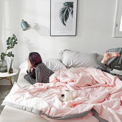 2019新款大豆纤维夏被 150x200cm 蔷薇粉