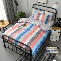 2018新款北欧宜家风13372全棉单人三件套 1.2m(4英尺)床 午后时光