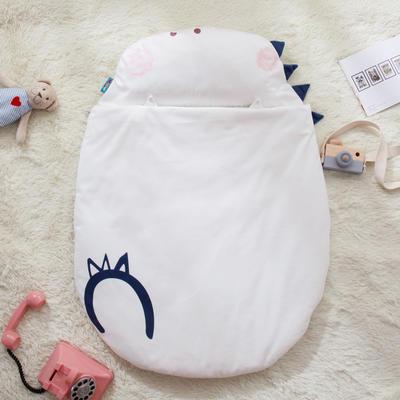 新款婴幼儿小睡袋春秋薄被子四季通用保暖防踢被 企鹅