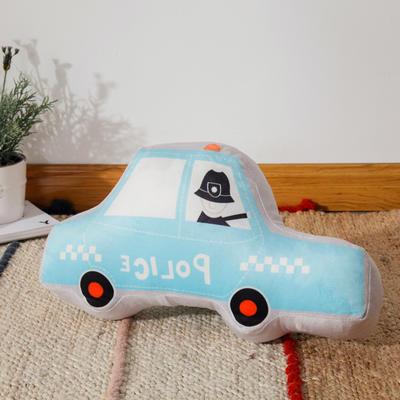 新款数码印花立体款卡通抱枕动植物飞机玩具小汽车儿童可爱小礼物 35x50cm(按实物为准) 立体款-轿车