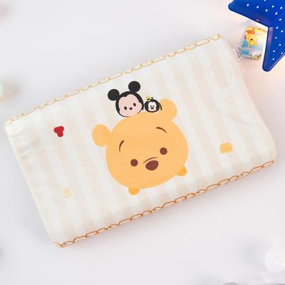新款迪士尼儿童乳胶枕泰国天然学生慢回弹幼儿园小学生记忆枕宝宝枕 维尼小熊-伙伴(大号)