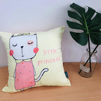 新款可爱兔抱枕 45x45cm 可爱兔3