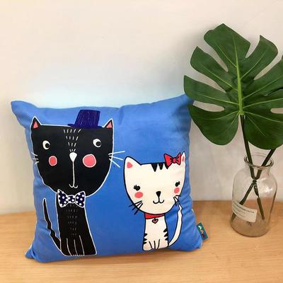新款幸福猫抱枕 45x45cm 幸福猫1