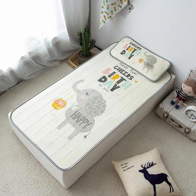 2020新款儿童冰感丝乳胶凉席-床款 120cmX60cm 童话里的礼物