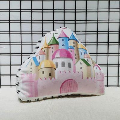 20202新款立体抱枕 35*50cm 彩色城堡