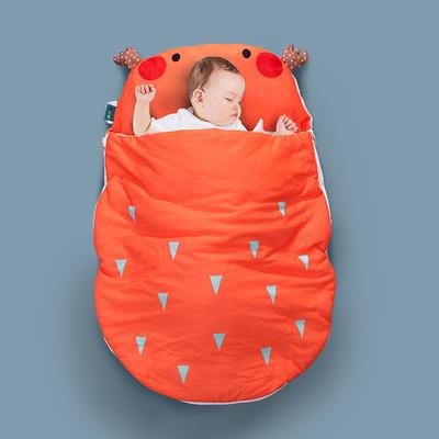 2020新款新款亲肤针织棉宝宝睡袋-70*100cm 害羞鹿
