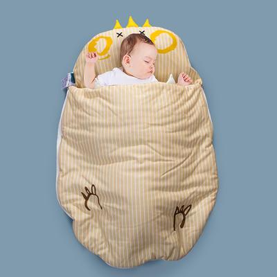 2020新款新款亲肤针织棉宝宝睡袋-70*100cm 皇冠鸡