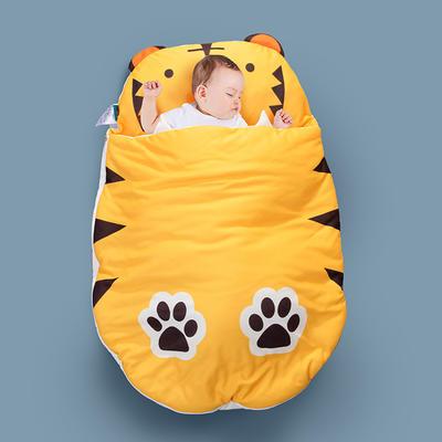 2020新款新款亲肤针织棉宝宝睡袋-70*100cm 小老虎