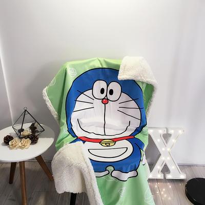 2020新款卡通羊羔毛毯 150*200cm 叮当猫