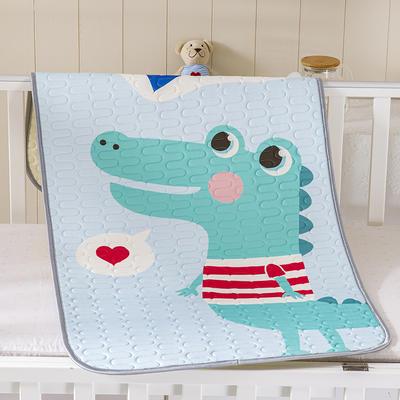 2021新款儿童乳胶凉席 60*120cm 鳄鱼小子