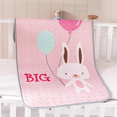 2021新款儿童乳胶凉席 60*120cm 兔子