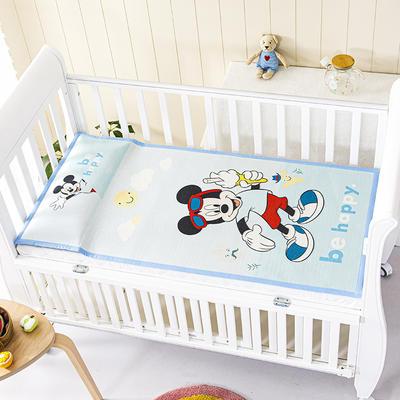 2021新款迪士尼儿童冰丝席 60*120cm 冰激凌米奇