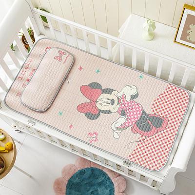 迪士尼系列 儿童乳胶凉席 60*120cm三件套 爱美米妮
