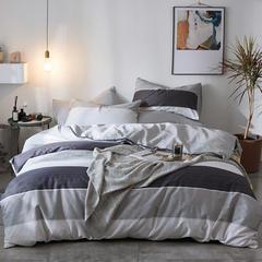 2019新款-全棉印花三件套四件套 三件套1.2m(4英尺)床 时尚麋鹿