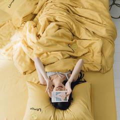 2019新款60S兰精天丝夏被三件套系列 48*78cm枕套/对 柠檬
