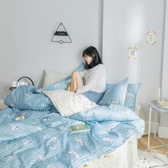 2019新款-13070全棉四件套 1.2m床床单款(三件套) 贝甜