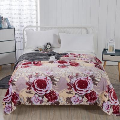 2019新款-230g卷邊毛毯 1.5*2米 錦上添花