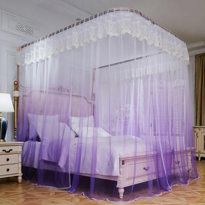 2019新款导轨雅姿系列蚊帐 1.5m(5英尺)床 导轨-雅姿紫