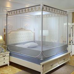 2019新款坐床蚊帐-风雅 1.5m(5英尺)床 风雅-灰