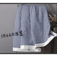 磨毛被芯面料 幅宽:245cm 18662深蓝