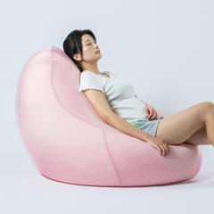 2018新款-梨形懒人沙发 90*90*95cm 粉色