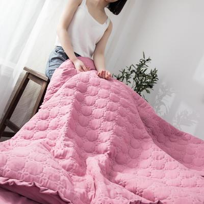 2019公主风褶皱花边水洗棉多功能性四件套床单/床笠款 1.2m床 胭脂红