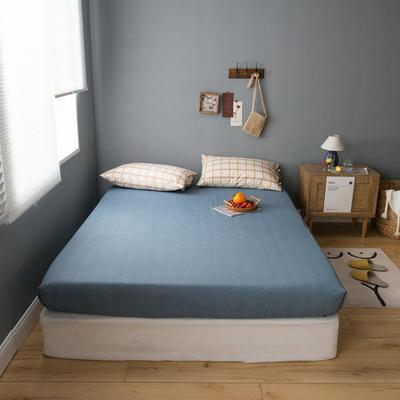 2020新款全棉ins風復古格套件系列—單品床笠 150x200cm 奶咖格