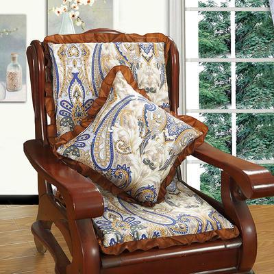 2018布艺沙发垫(一座一靠) 一座一靠55cm 布艺古韵