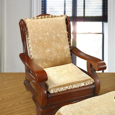 2018布艺沙发垫(一座一靠) 一座一靠55cm 金丝绒米色