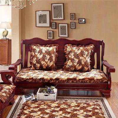2018布艺沙发垫(长条款) 双人52x108厘米 枫叶