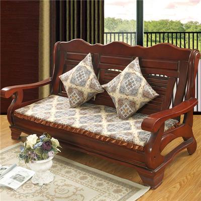 2018布艺沙发垫(长条款) 双人52x108厘米 格调