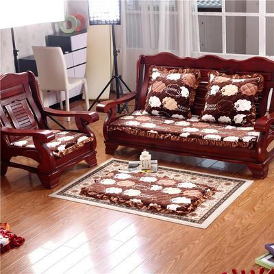 2018布艺沙发垫(长条款) 双人52x108厘米 绵羊
