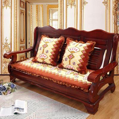 2018布艺沙发垫(长条款) 双人52x108厘米 岁岁平安