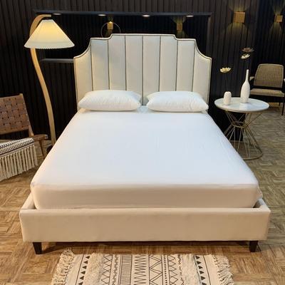 2020新款促销床笠 150cmx200cm 本白
