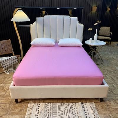 2020新款促销床笠 150cmx200cm 浅紫