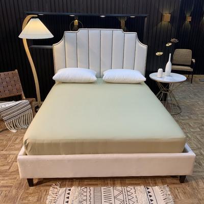 2020新款促销床笠 150cmx200cm 驼色