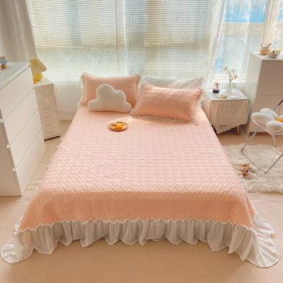 2021夏季新款床裙款凉感丝乳胶凉席 230*245cm 裸玉