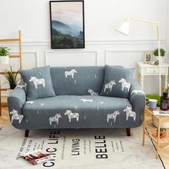 规格通用沙发套 单人 快乐小马