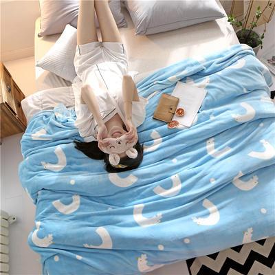 300克法莱绒毛毯  珊瑚绒小毛毯子 120cmX200cm 玲珑剔透